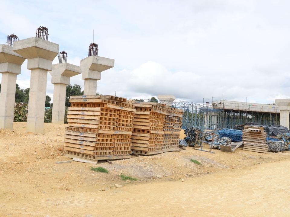 Obras del corredor Juan Amarillo. Foto: Comunicaciones Secretaría de Ambiente.