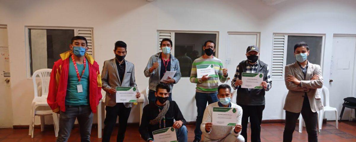 Ciudadanos culminaron con éxito proceso de formación en humedales. Foto: Comunicaciones, Secretaría de Ambiente.