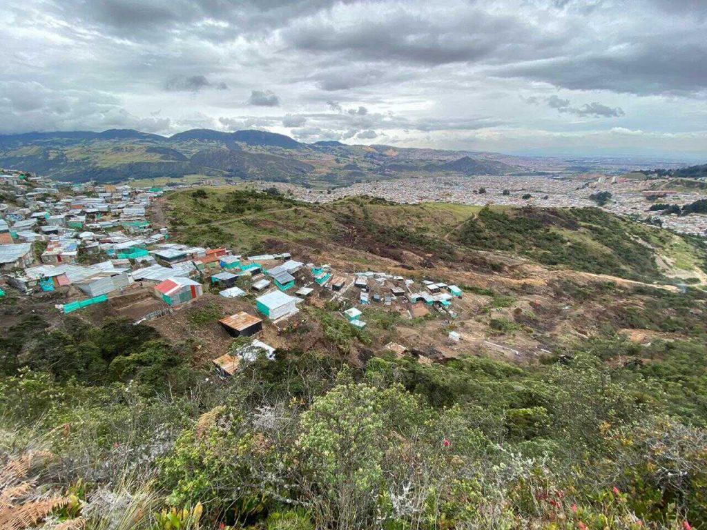 Entrenubes es un ecosistema de vital importancia para la biodiversidad y es uno de los pulmones del suroriente de Bogotá. Foto: Comunicaciones, Secretaría de Ambiente.